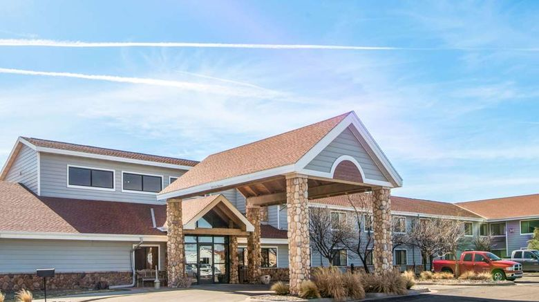 """AmericInn by Wyndham Pampa Event Ctr Exterior. Images powered by <a href=""""http://web.iceportal.com"""" target=""""_blank"""" rel=""""noopener"""">Ice Portal</a>."""