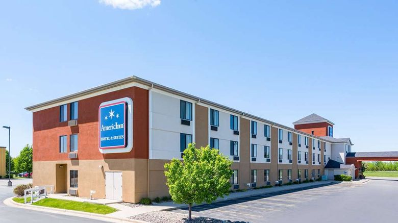 """AmericInn Hotel  and  Stes Rochester Airport Exterior. Images powered by <a href=""""http://web.iceportal.com"""" target=""""_blank"""" rel=""""noopener"""">Ice Portal</a>."""