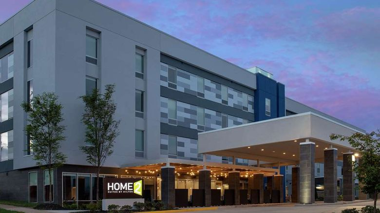 """Home2 Suites Charlottesville Dtwn Exterior. Images powered by <a href=""""http://web.iceportal.com"""" target=""""_blank"""" rel=""""noopener"""">Ice Portal</a>."""