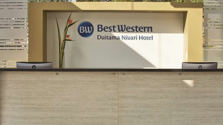 """<b>Best Western Duitama Nivari Hotel Lobby</b>. Images powered by <a href=""""https://iceportal.shijigroup.com/"""" title=""""IcePortal"""" target=""""_blank"""">IcePortal</a>."""