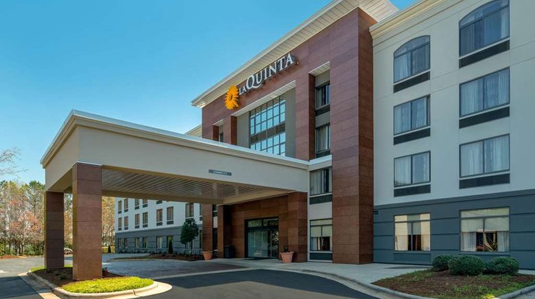 """La Quinta Inn  and  Stes Raleigh Downtown N Exterior. Images powered by <a href=""""http://web.iceportal.com"""" target=""""_blank"""" rel=""""noopener"""">Ice Portal</a>."""