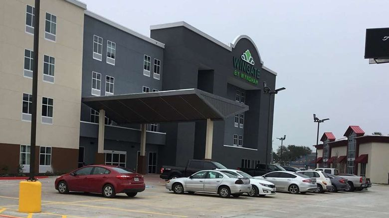 """Wingate by Wyndham Corpus Christi Exterior. Images powered by <a href=""""http://web.iceportal.com"""" target=""""_blank"""" rel=""""noopener"""">Ice Portal</a>."""