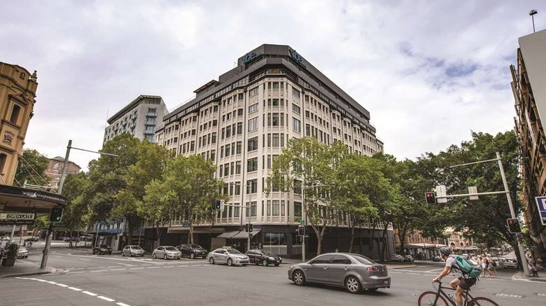 """Vibe Hotel Sydney Exterior. Images powered by <a href=""""http://web.iceportal.com"""" target=""""_blank"""" rel=""""noopener"""">Ice Portal</a>."""