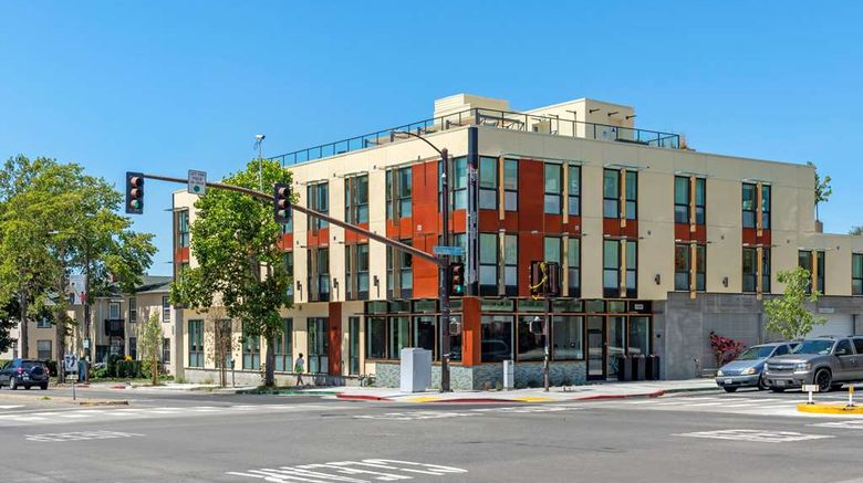 """Aiden by Best Western at Berkeley Exterior. Images powered by <a href=""""http://web.iceportal.com"""" target=""""_blank"""" rel=""""noopener"""">Ice Portal</a>."""