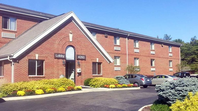 """Extended Stay America Stes Blue Ash Reag Exterior. Images powered by <a href=""""http://web.iceportal.com"""" target=""""_blank"""" rel=""""noopener"""">Ice Portal</a>."""