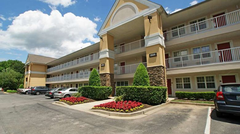 """Extended Stay America Stes Bna Airport Exterior. Images powered by <a href=""""http://web.iceportal.com"""" target=""""_blank"""" rel=""""noopener"""">Ice Portal</a>."""