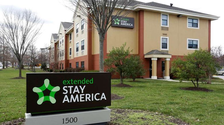 """Extended Stay America Stes Bwi Airport A Exterior. Images powered by <a href=""""http://web.iceportal.com"""" target=""""_blank"""" rel=""""noopener"""">Ice Portal</a>."""
