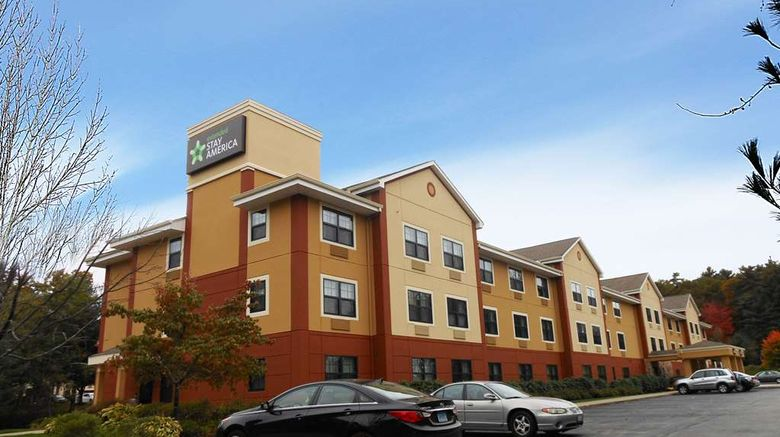 """Extended Stay America Stes Nashua Manche Exterior. Images powered by <a href=""""http://web.iceportal.com"""" target=""""_blank"""" rel=""""noopener"""">Ice Portal</a>."""