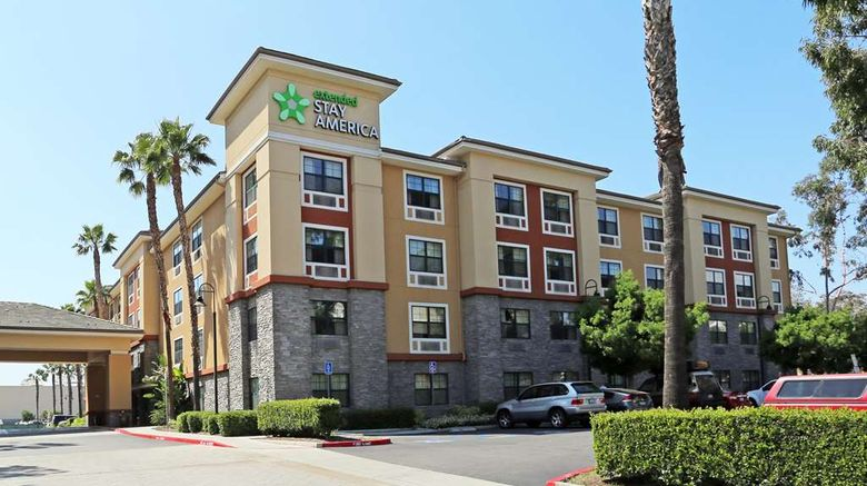 """Extended Stay America Stes Anaheim Conve Exterior. Images powered by <a href=""""http://web.iceportal.com"""" target=""""_blank"""" rel=""""noopener"""">Ice Portal</a>."""