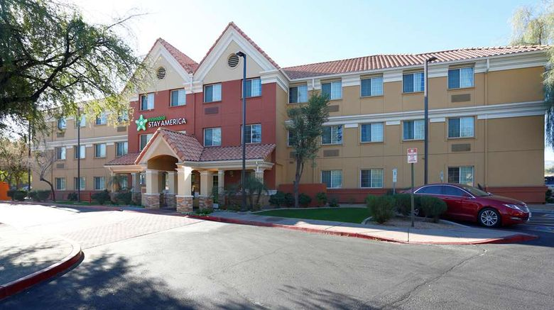 """Extended Stay America Stes Phx Airport T Exterior. Images powered by <a href=""""http://web.iceportal.com"""" target=""""_blank"""" rel=""""noopener"""">Ice Portal</a>."""