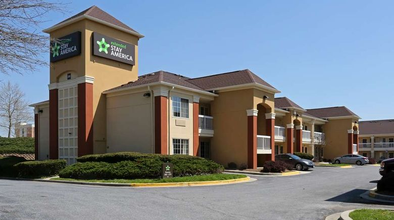 """Extended Stay America Stes Bwi Airport I Exterior. Images powered by <a href=""""http://web.iceportal.com"""" target=""""_blank"""" rel=""""noopener"""">Ice Portal</a>."""