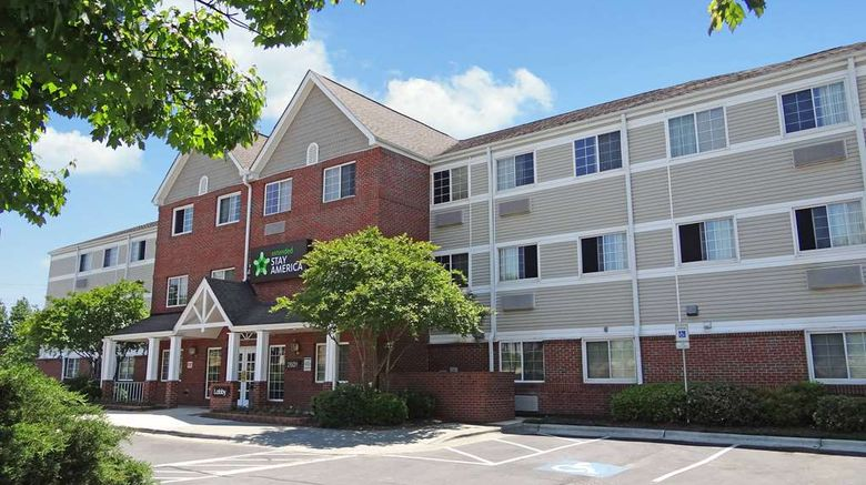 """Extended Stay America Suites Raleigh Ne Exterior. Images powered by <a href=""""http://web.iceportal.com"""" target=""""_blank"""" rel=""""noopener"""">Ice Portal</a>."""
