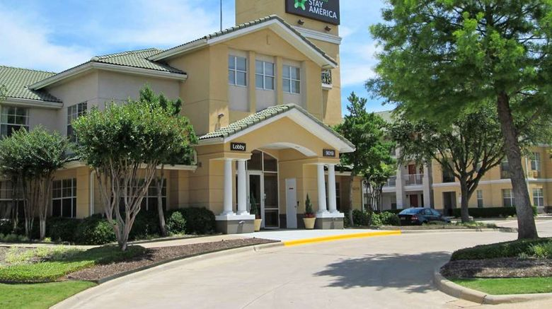 """Extended Stay America Stes Dallas Vantag Exterior. Images powered by <a href=""""http://web.iceportal.com"""" target=""""_blank"""" rel=""""noopener"""">Ice Portal</a>."""