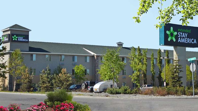 """Extended Stay America Stes Anchorage Exterior. Images powered by <a href=""""http://web.iceportal.com"""" target=""""_blank"""" rel=""""noopener"""">Ice Portal</a>."""