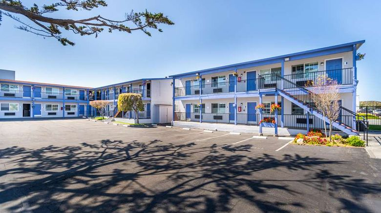 """SureStay Hotel by BW Seaside Monterey Exterior. Images powered by <a href=""""http://web.iceportal.com"""" target=""""_blank"""" rel=""""noopener"""">Ice Portal</a>."""