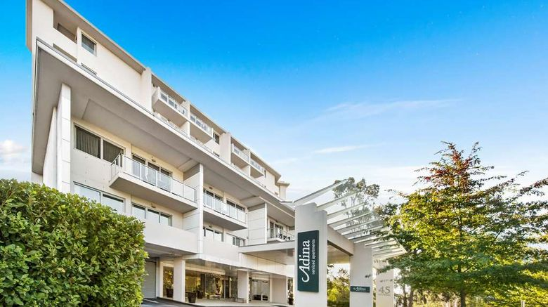"""Adina Serviced Apts Canberra Dickson Exterior. Images powered by <a href=""""http://web.iceportal.com"""" target=""""_blank"""" rel=""""noopener"""">Ice Portal</a>."""