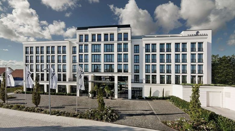 """Parkhotel Stuttgart Messe-Airport Exterior. Images powered by <a href=""""http://web.iceportal.com"""" target=""""_blank"""" rel=""""noopener"""">Ice Portal</a>."""