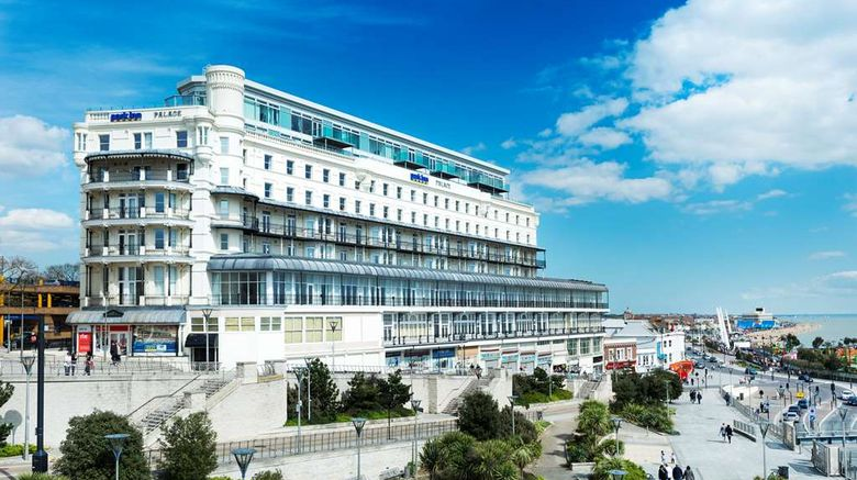 """Park Inn Palace, Southend-on-Sea Exterior. Images powered by <a href=""""http://web.iceportal.com"""" target=""""_blank"""" rel=""""noopener"""">Ice Portal</a>."""