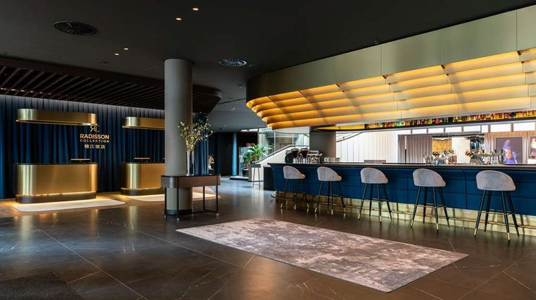 """<b>Radisson Collection Grand Place Brussels Lobby</b>. Images powered by <a href=""""https://iceportal.shijigroup.com/"""" title=""""IcePortal"""" target=""""_blank"""">IcePortal</a>."""