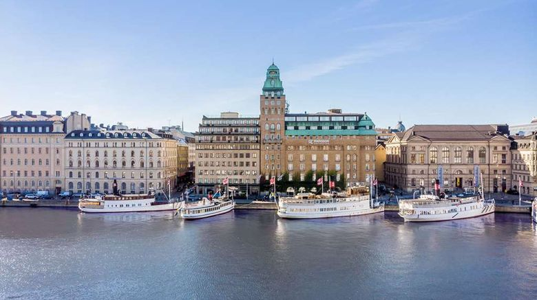"""Radisson Collection Strand  Stockhollm Exterior. Images powered by <a href=""""http://web.iceportal.com"""" target=""""_blank"""" rel=""""noopener"""">Ice Portal</a>."""