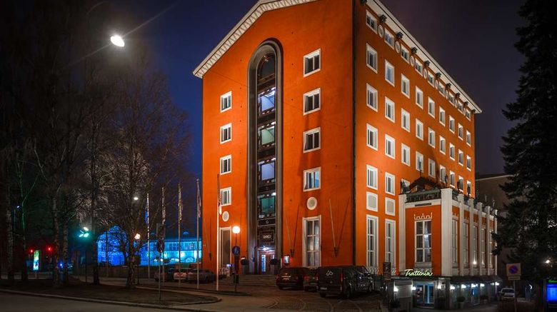 """Radisson Blu Grand Hotel Tammer Tampere Exterior. Images powered by <a href=""""http://web.iceportal.com"""" target=""""_blank"""" rel=""""noopener"""">Ice Portal</a>."""