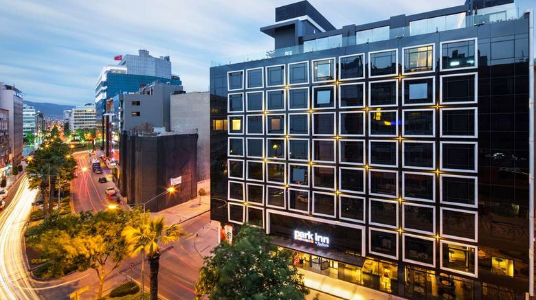 """Park Inn by Radisson Izmir Exterior. Images powered by <a href=""""http://web.iceportal.com"""" target=""""_blank"""" rel=""""noopener"""">Ice Portal</a>."""