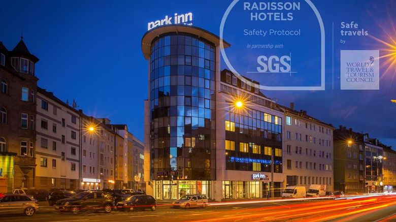 """Park Inn by Radisson Nuremberg Exterior. Images powered by <a href=""""http://web.iceportal.com"""" target=""""_blank"""" rel=""""noopener"""">Ice Portal</a>."""