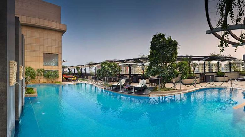 """Park Plaza Gurgaon Pool. Images powered by <a href=""""http://web.iceportal.com"""" target=""""_blank"""" rel=""""noopener"""">Ice Portal</a>."""