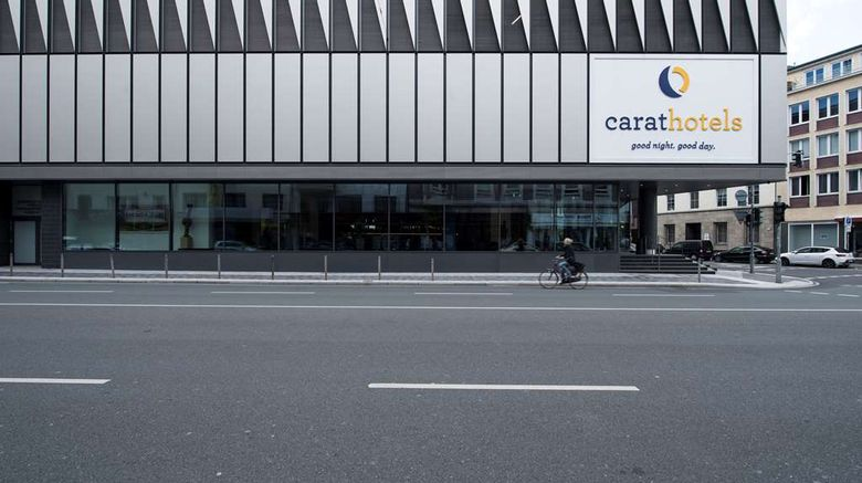 """carathotel Dusseldorf City Exterior. Images powered by <a href=""""http://web.iceportal.com"""" target=""""_blank"""" rel=""""noopener"""">Ice Portal</a>."""