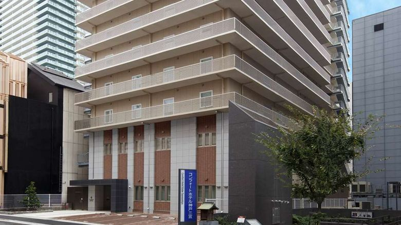 """Comfort Hotel Kobe Sannomiya Exterior. Images powered by <a href=""""http://web.iceportal.com"""" target=""""_blank"""" rel=""""noopener"""">Ice Portal</a>."""