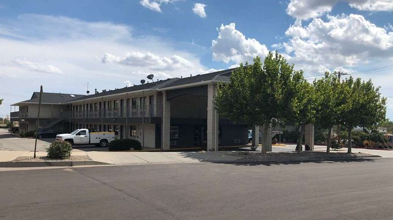 """Travelodge by Wyndham Albuquerque East Exterior. Images powered by <a href=""""http://web.iceportal.com"""" target=""""_blank"""" rel=""""noopener"""">Ice Portal</a>."""