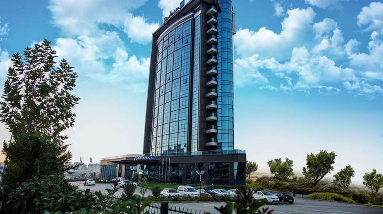 """Radisson Blu Hotel Diyarbakir Exterior. Images powered by <a href=""""http://web.iceportal.com"""" target=""""_blank"""" rel=""""noopener"""">Ice Portal</a>."""