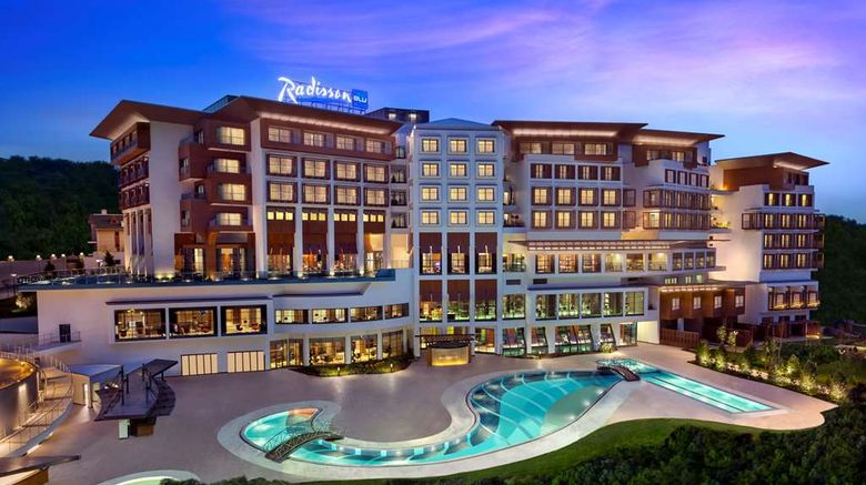 """Radisson Blu Hotel  and  Spa, Istanbul Tuzla Exterior. Images powered by <a href=""""http://web.iceportal.com"""" target=""""_blank"""" rel=""""noopener"""">Ice Portal</a>."""