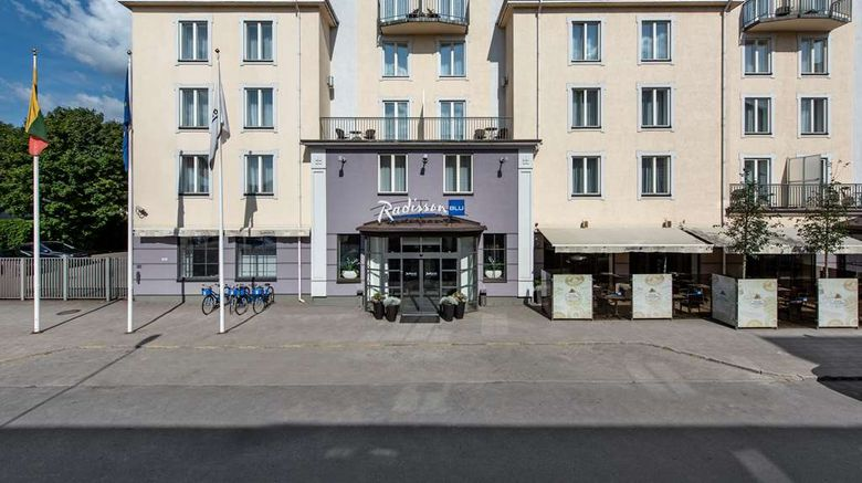 """Radisson Blu Hotel, Klaipeda Exterior. Images powered by <a href=""""http://web.iceportal.com"""" target=""""_blank"""" rel=""""noopener"""">Ice Portal</a>."""