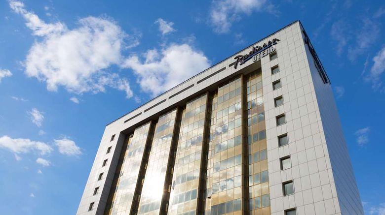 """Radisson Blu Belorusskaya Hotel, Moscow Exterior. Images powered by <a href=""""http://web.iceportal.com"""" target=""""_blank"""" rel=""""noopener"""">Ice Portal</a>."""