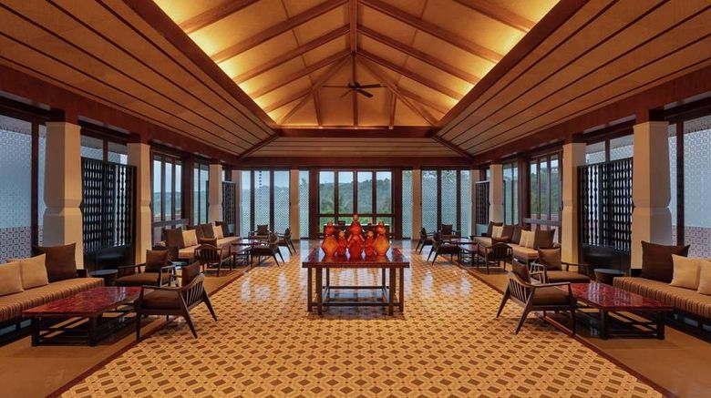"""Hilton Goa Resort Lobby. Images powered by <a href=""""http://web.iceportal.com"""" target=""""_blank"""" rel=""""noopener"""">Ice Portal</a>."""