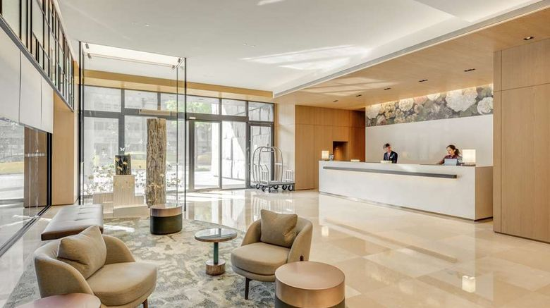 """DoubleTree By Hilton Taipei Zhongshan Lobby. Images powered by <a href=""""http://web.iceportal.com"""" target=""""_blank"""" rel=""""noopener"""">Ice Portal</a>."""