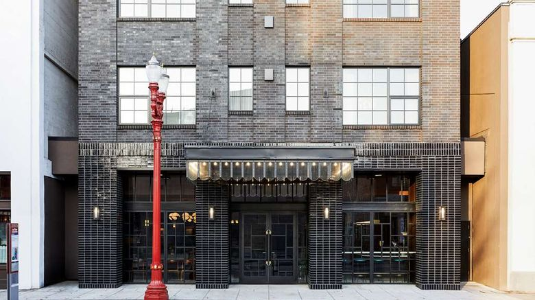 """The Hoxton Hotel Portland Exterior. Images powered by <a href=""""http://web.iceportal.com"""" target=""""_blank"""" rel=""""noopener"""">Ice Portal</a>."""