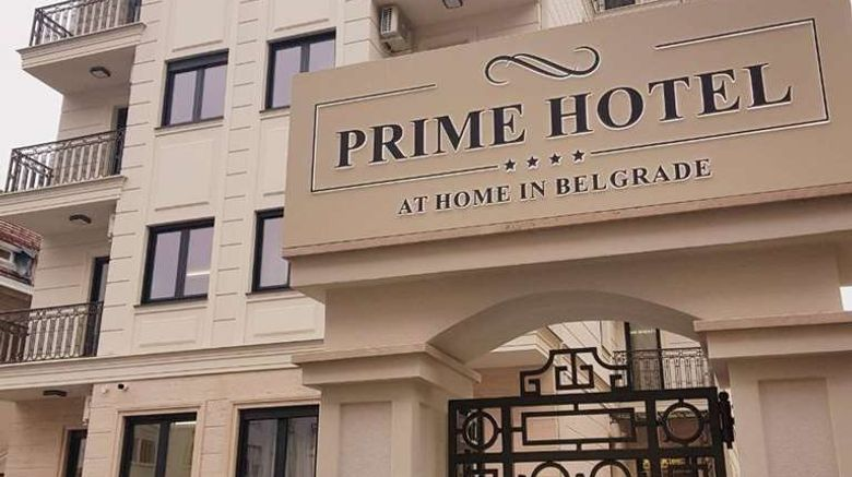 """Prime Hotel Belgrade Exterior. Images powered by <a href=""""http://web.iceportal.com"""" target=""""_blank"""" rel=""""noopener"""">Ice Portal</a>."""