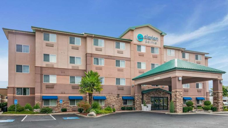 """Clarion Inn  and  Suites Medford Exterior. Images powered by <a href=""""http://web.iceportal.com"""" target=""""_blank"""" rel=""""noopener"""">Ice Portal</a>."""