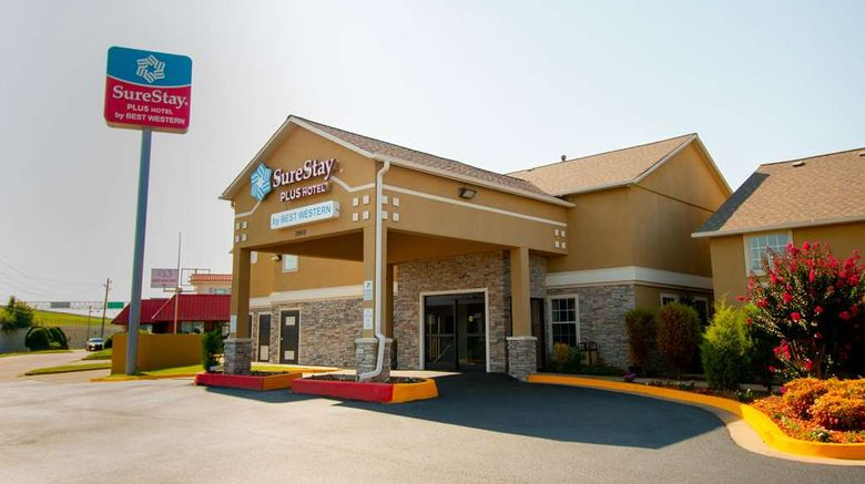 """SureStay Plus by Best Western Tulsa East Exterior. Images powered by <a href=""""http://web.iceportal.com"""" target=""""_blank"""" rel=""""noopener"""">Ice Portal</a>."""