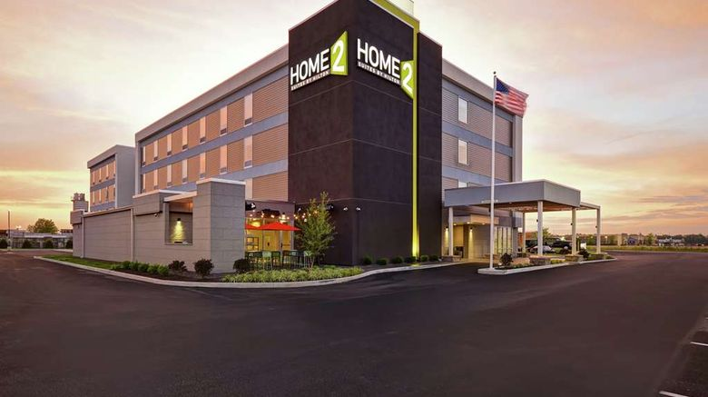 """Home2 Suites by Hilton Terre Haute Exterior. Images powered by <a href=""""http://web.iceportal.com"""" target=""""_blank"""" rel=""""noopener"""">Ice Portal</a>."""