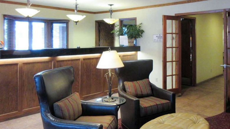 """Quality Inn  and  Suites Detroit Lakes Lobby. Images powered by <a href=""""http://web.iceportal.com"""" target=""""_blank"""" rel=""""noopener"""">Ice Portal</a>."""