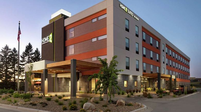 """Home2 Suites by Hilton Bismarck Exterior. Images powered by <a href=""""http://web.iceportal.com"""" target=""""_blank"""" rel=""""noopener"""">Ice Portal</a>."""