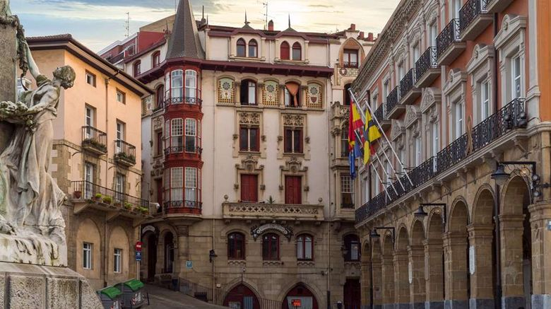 """Gran Hotel Puente Colgante Exterior. Images powered by <a href=""""http://web.iceportal.com"""" target=""""_blank"""" rel=""""noopener"""">Ice Portal</a>."""