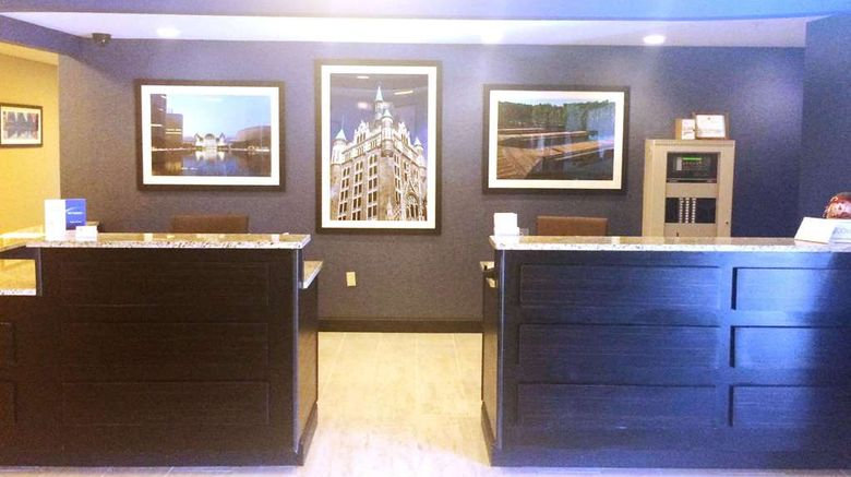"""<b>SureStay Plus Hotel by BW Albany Airport Lobby</b>. Images powered by <a href=""""https://iceportal.shijigroup.com/"""" title=""""IcePortal"""" target=""""_blank"""">IcePortal</a>."""