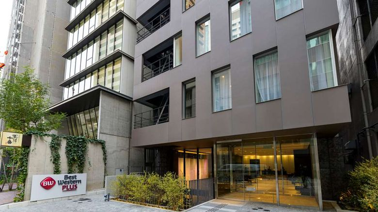 """Best Western Plus Fino Osaka Kitahama Exterior. Images powered by <a href=""""http://web.iceportal.com"""" target=""""_blank"""" rel=""""noopener"""">Ice Portal</a>."""