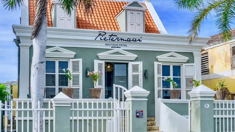 """Pietermaai Boutique Hotel Exterior. Images powered by <a href=""""http://web.iceportal.com"""" target=""""_blank"""" rel=""""noopener"""">Ice Portal</a>."""
