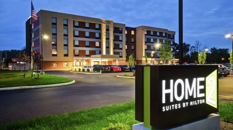 """Home2 Suites by Hilton Amherst/Buffalo Exterior. Images powered by <a href=""""http://web.iceportal.com"""" target=""""_blank"""" rel=""""noopener"""">Ice Portal</a>."""
