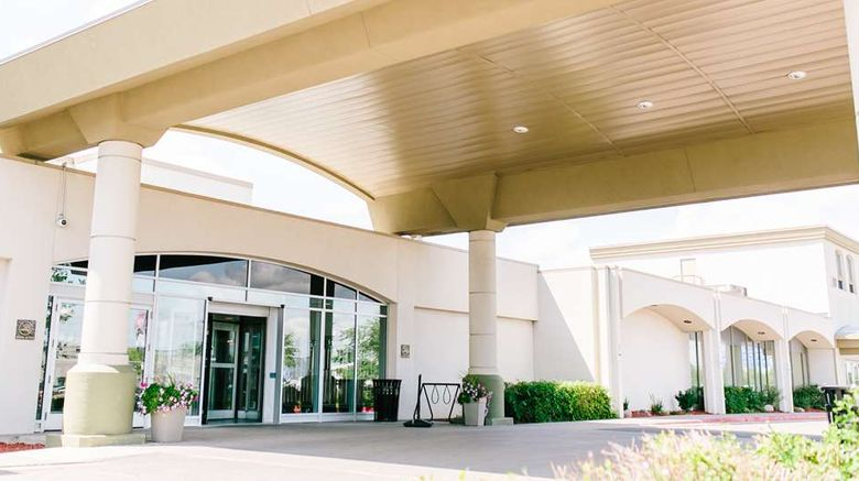 """Victoria Inn Hotel  and  Convention Centre Exterior. Images powered by <a href=""""http://web.iceportal.com"""" target=""""_blank"""" rel=""""noopener"""">Ice Portal</a>."""